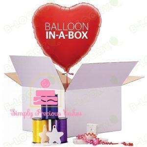 Balloon in a Box , flat balloons & Balloon Accessories